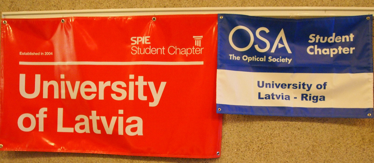DOC-2014 main organizers were local student chapters of OSA and ULSPIE